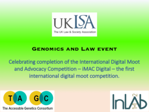 Genomics and law event image